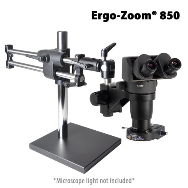 Ergo-Zoom® 850 Binocular Microscope with Ball Bearing Base
