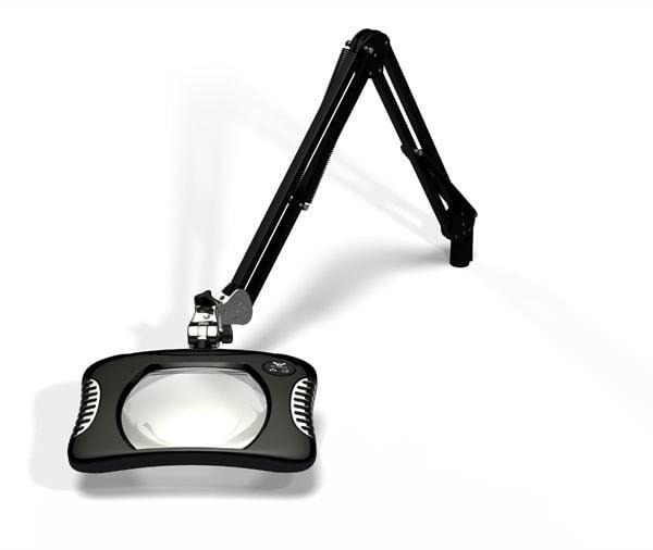Green-Lite™ - Rectangular LED Magnifier - Carbon Black