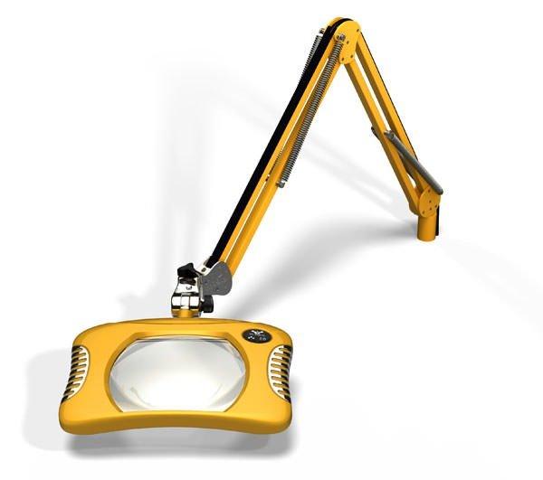 Green-Lite™ - Rectangular LED Magnifier - Blazing Yellow