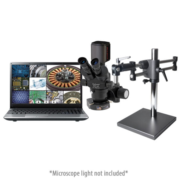 ProZoom® 6.5 Trinocular Microscope with Ball Bearing Base