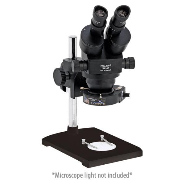 ProZoom® 4.5 Stereo-Zoom Binocular Microscope - Laboratory Base