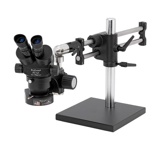 ProZoom® 6.5 Binocular Microscope - Ball Bearing Base - TKPZ-LV2