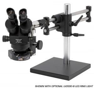 ProZoom® 4.5 Stereo-Zoom Binocular Microscope - Ball Bearing Base - TKSZ-LV2