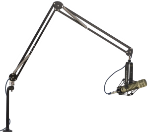 "ProBoom™ Elite Extended Reach Mic Arm with Riser - 45"" Reach - 12"" Vertical Riser"