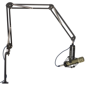 "ProBoom® Deluxe Three Segment Mic Arm - 46"" Reach - 12"" Vertical Riser-0"
