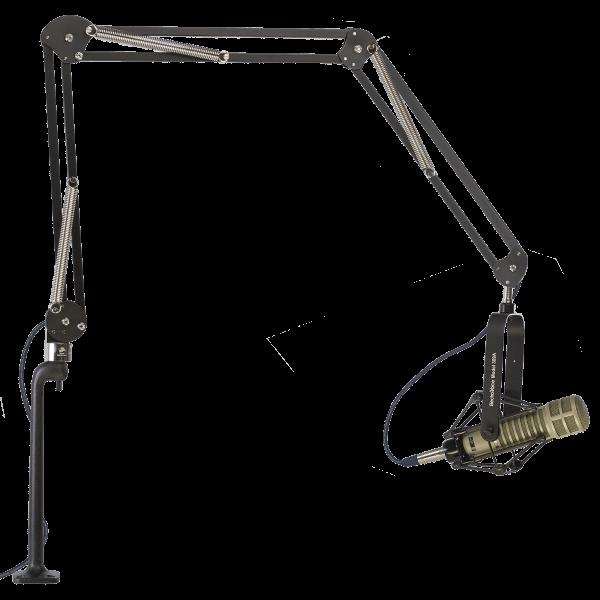 "ProBoom® Deluxe Three Segment Mic Arm - 46"" Reach - 12"" Vertical Riser-0"