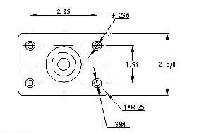 Mounting Dimensions for 11427