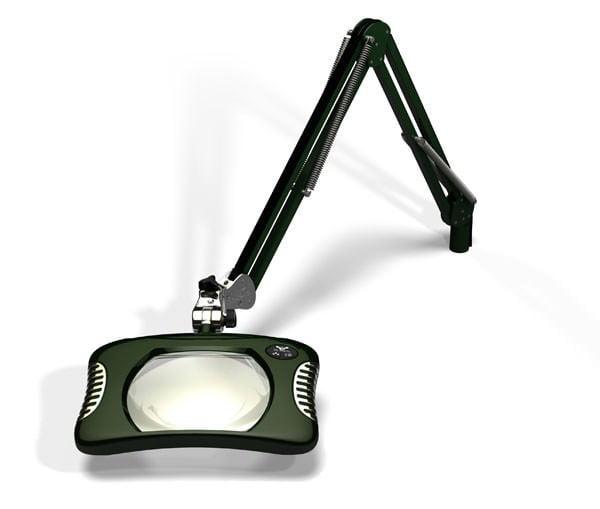 Green-Lite™ - Rectangular LED Magnifier - Racing Green