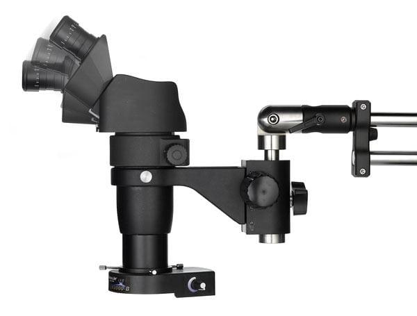 OC White Ergo-Zoom™ Eyepiece Articulation Range