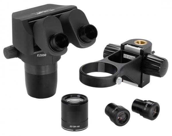 Ergo-Zoom® .8 - 5.0 Microscope Kit with 10x Eyepieces and 1x Plan APO Lens