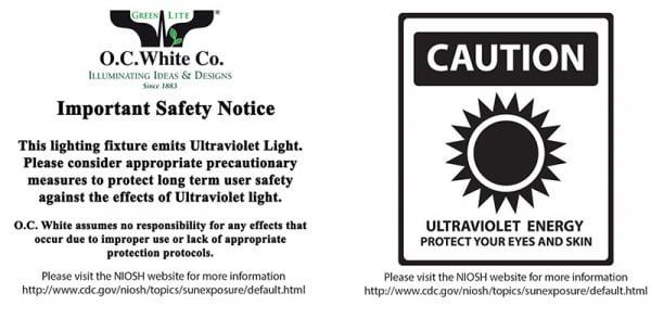 Micro-Lite® High Intensity Black Ultraviolet LED Ring Illuminator-1472