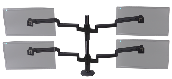ProBoom® Ultima™ Quad Monitor SMS Package