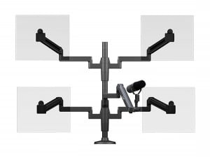 ProBoom® Ultima™ Quad Monitor & Mic Boom SMS Package