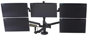 ProBoom® Ultima™ Five Monitor & Mic Boom SMS Package