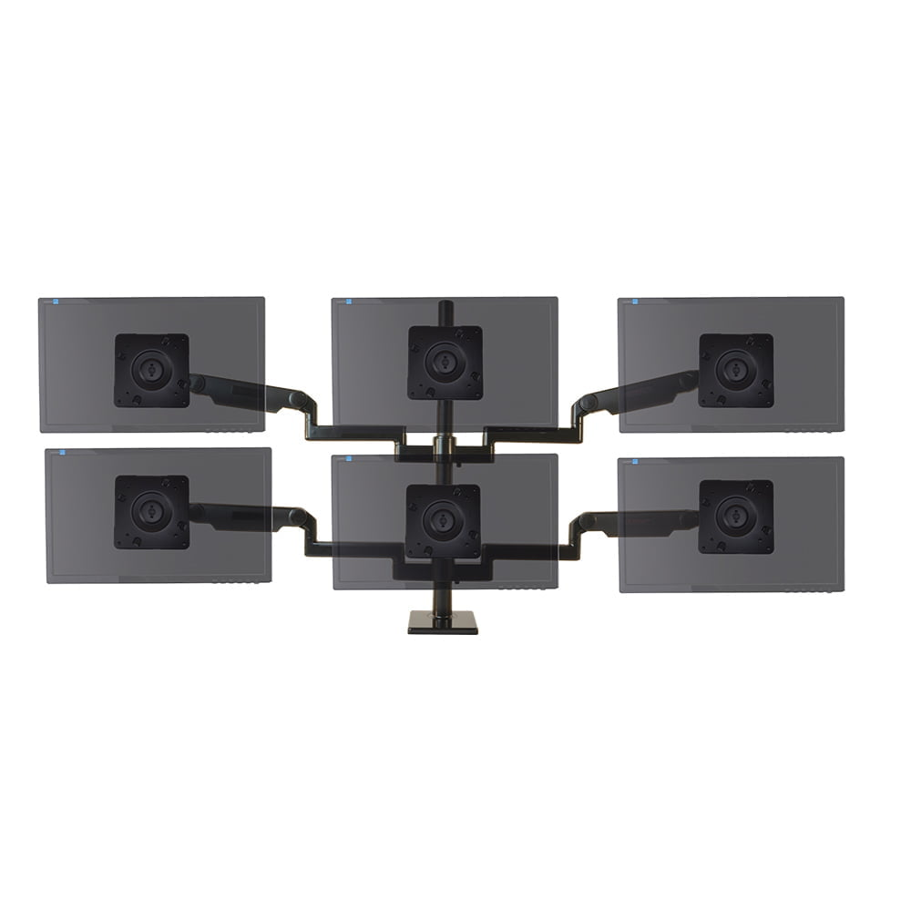 ProBoom® Ultima® Scalable Monitor System, Six monitor configuration for Broadcast
