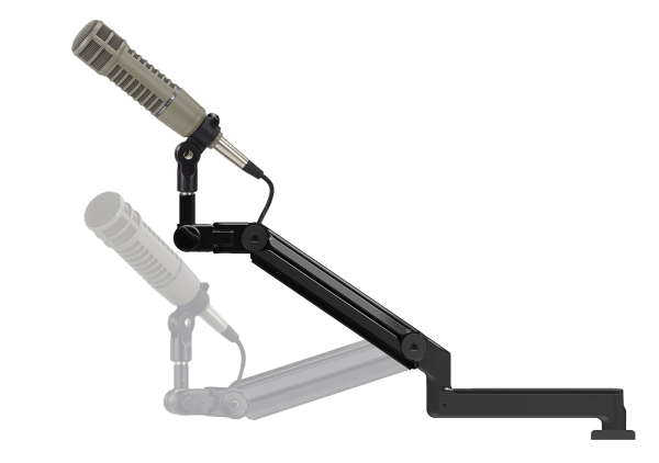 "ProBoom® Ultima™ LP Adjustable Mic Boom with (1) 12"" fixed horizontal arm only-0"