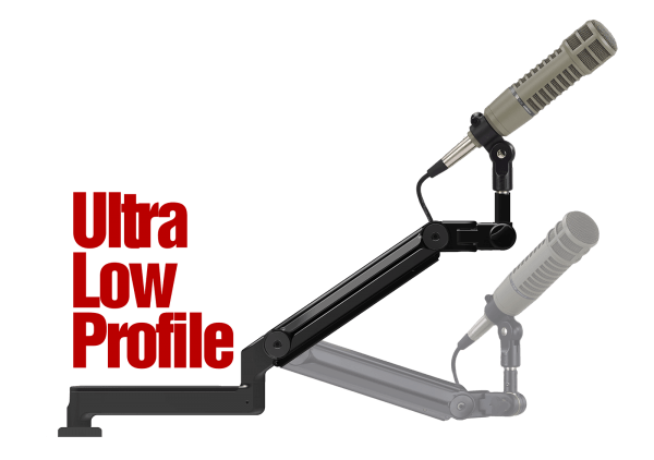 ProBoom® Ultima™ LP Adjustable Mic Boom with Machined Table Bushing