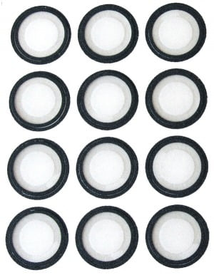 Frosted Diffuser kit (12 pcs) for Green-Lite™ LED Magnifiers