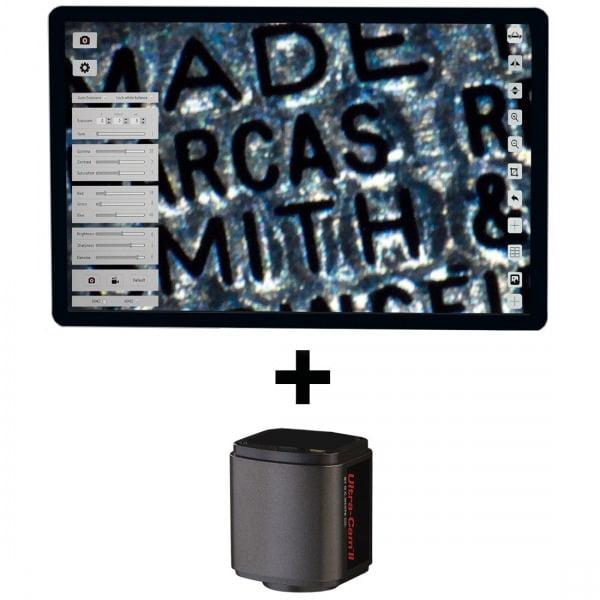 "5MP Hybrid HDMI Camera, Software + 12"" Integrated LCD Screen (HD1080p)"