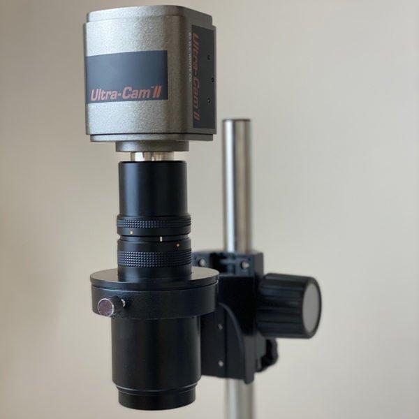 UltraCam™ II 6MP Camera for MacroZoom in use