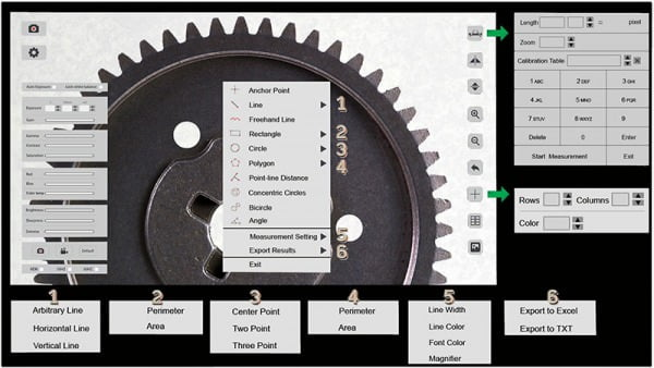 Integrated Measurement Features for Precision Manufacturing - No PC Needed!