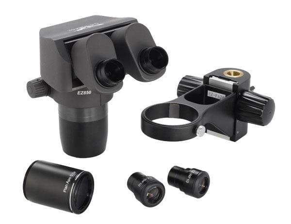 Ergo-Zoom™ .8 - 5.0 Microscope Kit with 10x Eyepieces and .5x Plan APO Lens