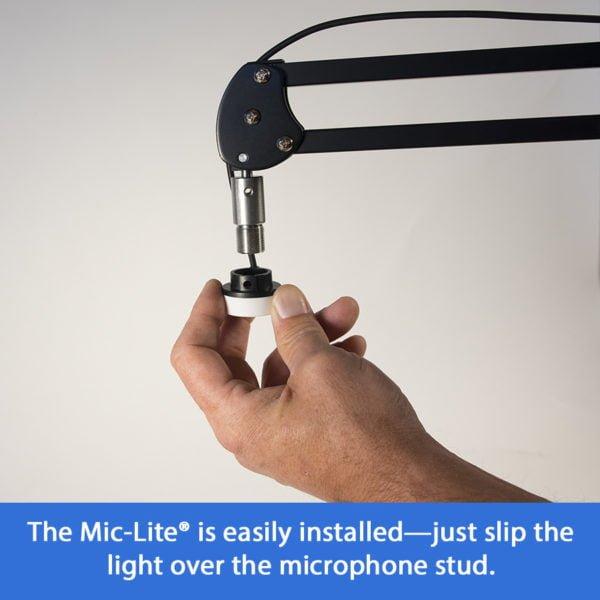 Mic-Lite® Installation Image