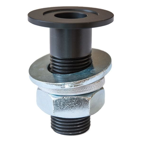 Machined Table Bushing (w/ Nut & Washer) for Ultima™ ULP and SMS Products; 17mm ID; Black Finish