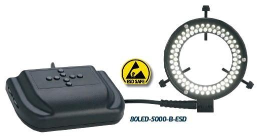Micro-Lite® Quadrant Control High Output 80 LED Ring Light