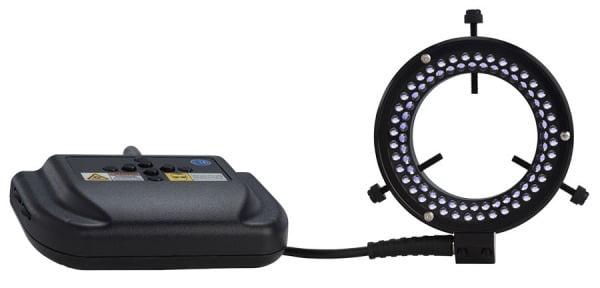 Micro-Lite® Quadrant Control Ultraviolet 80 LED Ring Light