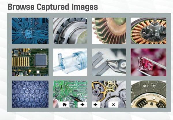 AF+ Onboard Browse Captured Images Tool