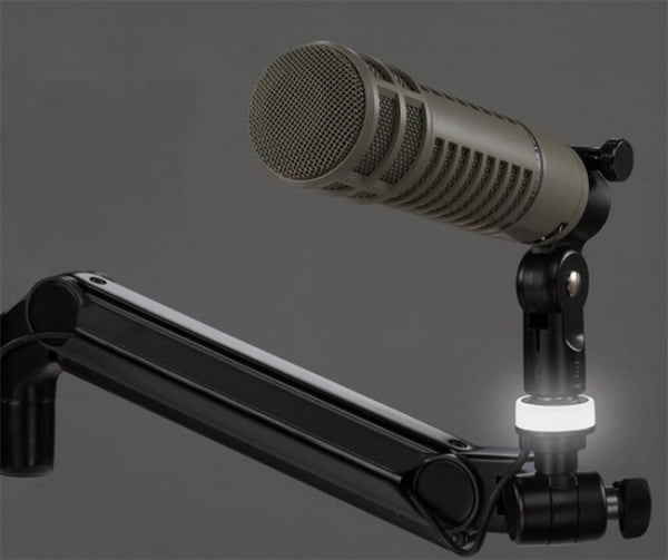 Mic-Lite™ LED On Air Light for Ultima™ ULP Mic Booms shown in Mic-Standby setting