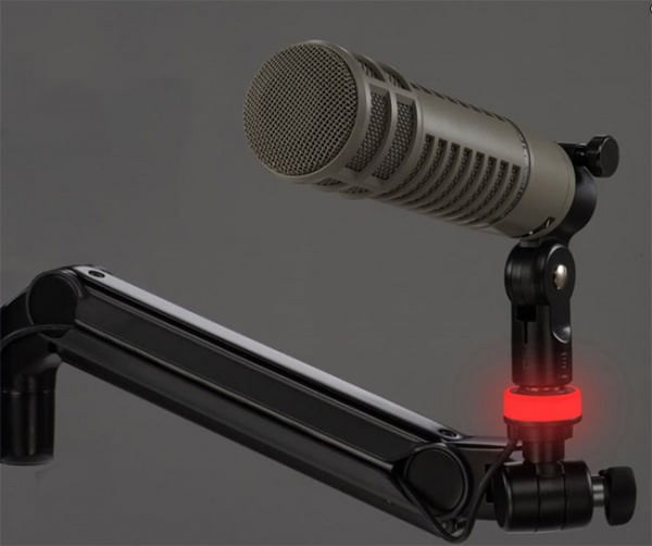Mic-Lite™ LED On Air Light for Ultima™ ULP Mic Booms shown in Mic-Live setting