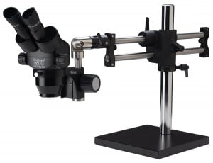 ProZoom® 4.5 Extended Working Distance Binocular Microscope - Ball Bearing Base - No Light - ESD Safe