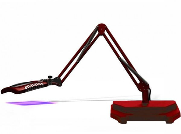 Green-Lite® - Rectangular LED Magnifier - Blaze Red
