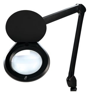 "Accu-Lite™ 6"" Round LED Magnifier; 3.5 Diopter (1.88x)"