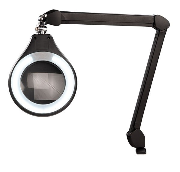 "LEDs on High Setting on Accu-Lite™ 6"" Round LED Magnifier"