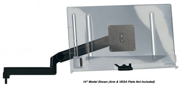 "14"" Clear Document Holder for Ultima™ SMS and EPS Systems"