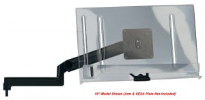 "18"" Clear Document Holder for Ultima™ SMS and EPS Systems"