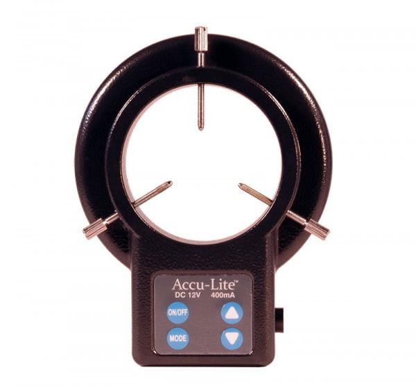 Accu-Lite™ Dimmable LED Ring Illuminator with Quadrant Control