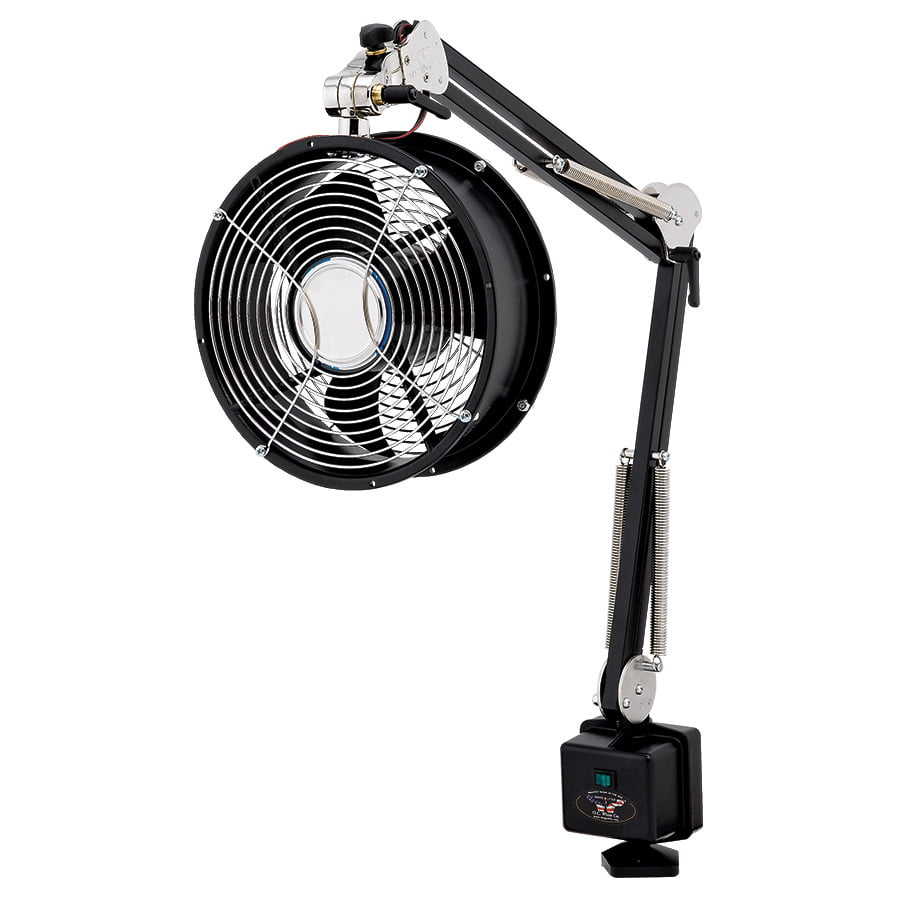 Our industrial fans can be precisely positioned