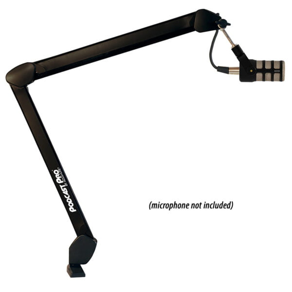 Affordable microphone arm for podcasters