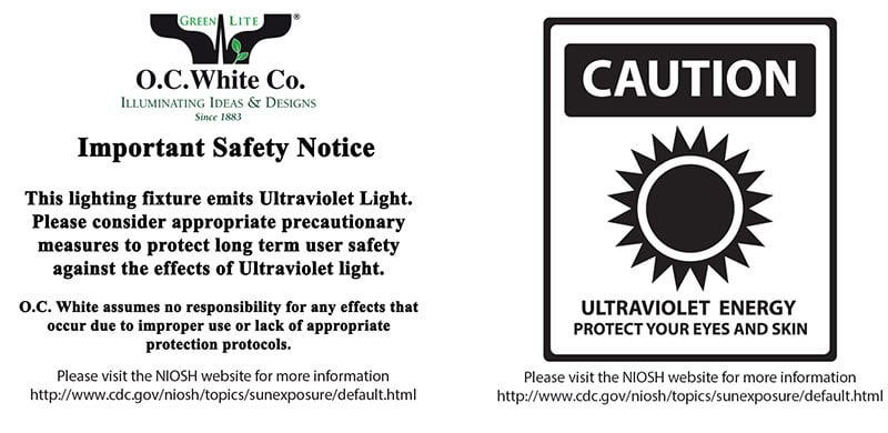 UV Safety Warning