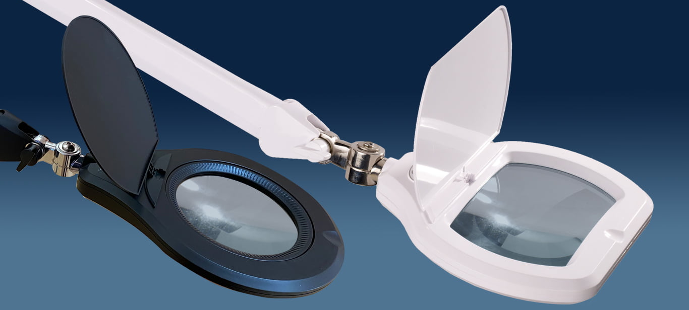 Affordable LED magnifiers for industry