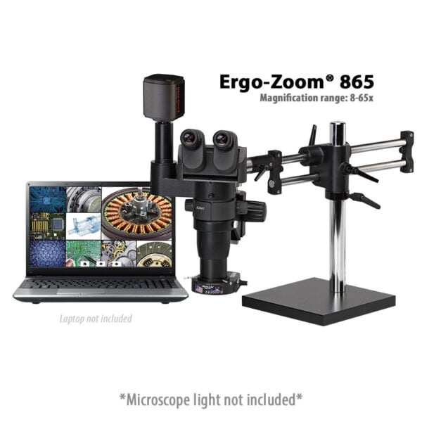 Ergo-Zoom 865 Trinocular Microscope