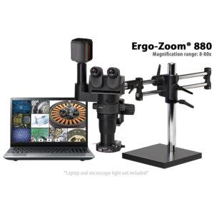 Ergo-Zoom 880 Trinocular Microscope