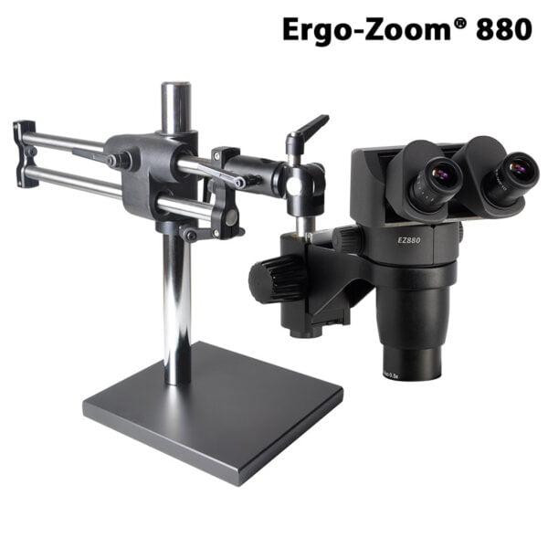Ergo-Zoom® 880 Binocular Microscope with Ball Bearing Base