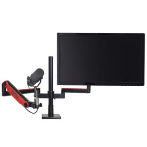 Limited Edition Red Single Monitor and Microphone Support