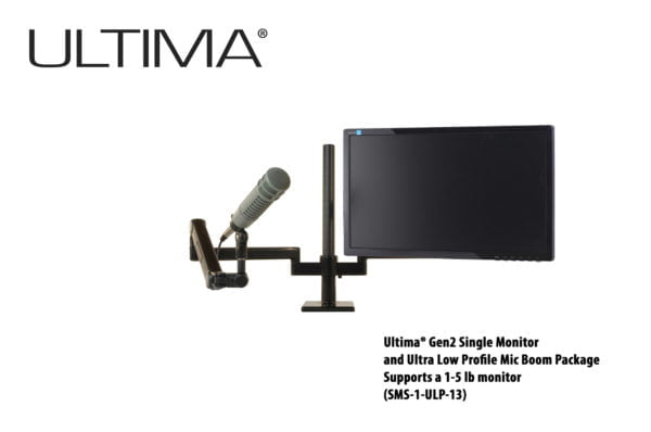 One monitor, One Microphone, Scalable Monitor System