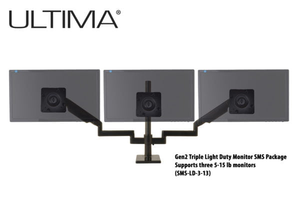 Ultima Scalable Monitor Support System Light Duty